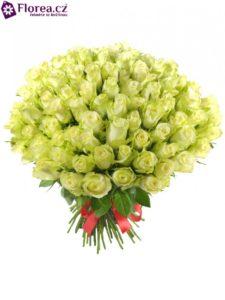 Bílo - žluté růže